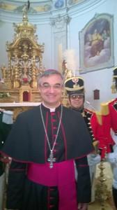 Mons Valerio Lazzeri  a Dongio