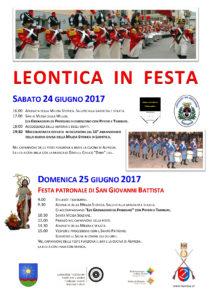 Leontica in festa 2017